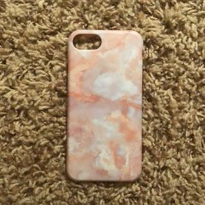 iphone 6s Urban Outfitters pink marble case
